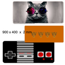 Gaming Mouse Pad Large Mouse Pad Gamer Mouse Mat For Computer Mousepad Carpet Laser Mause Pad Keyboard Desk Play Mats(China)