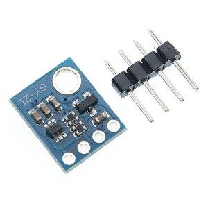 Image 5 - GY 21 HTU21D IIC/I2C الرقمية درجة الحرارة والرطوبة الاستشعار لوحة القطع وحدة لمحطات الطقس هوميدور التحكم 3.3 فولت