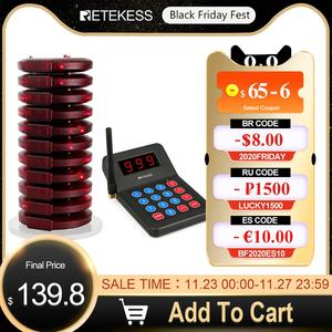 Image 1 - Retekess T119 Nhà Hàng Pager Với 10 Pager Thu Cho Quán Cà Phê Phòng Khám Hàng Đợi Phân Trang Hệ Thống Hệ Thống Gọi Pager Nhà Hàng