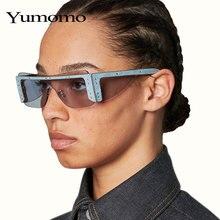 Square Sunglasses Women 2020 Rimless Gradient Rectangle Sunglasses Men Fashion Sunglasses Brand Designer Eyewear Rihanna Style