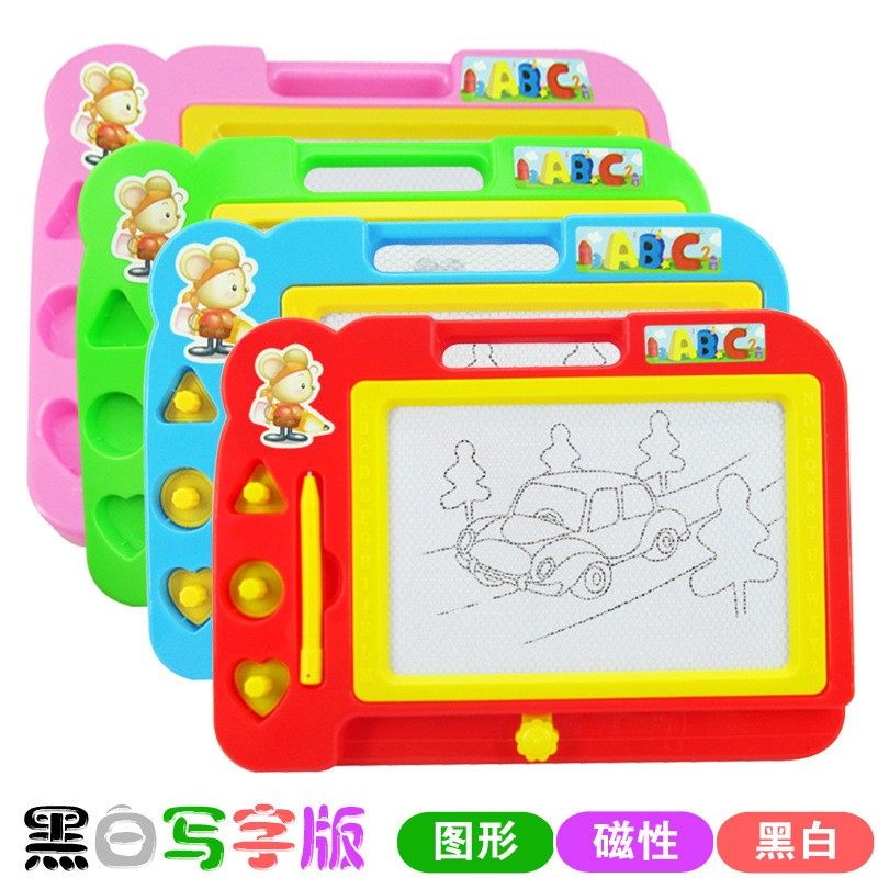 Special Kids CHILDREN'S Magnetic Baby Doodle Board Children Drawing Board Magnetic Xie Zi Ban Bi Educational Toy ~ Children