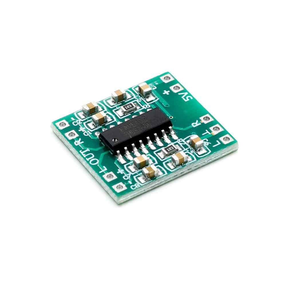 PAM8403 سوبر مضخم رقمي صغير مجلس 2*3 واط فئة D الرقمية 2.5 فولت إلى 5 فولت مكبر كهربائي مجلس كفاءة
