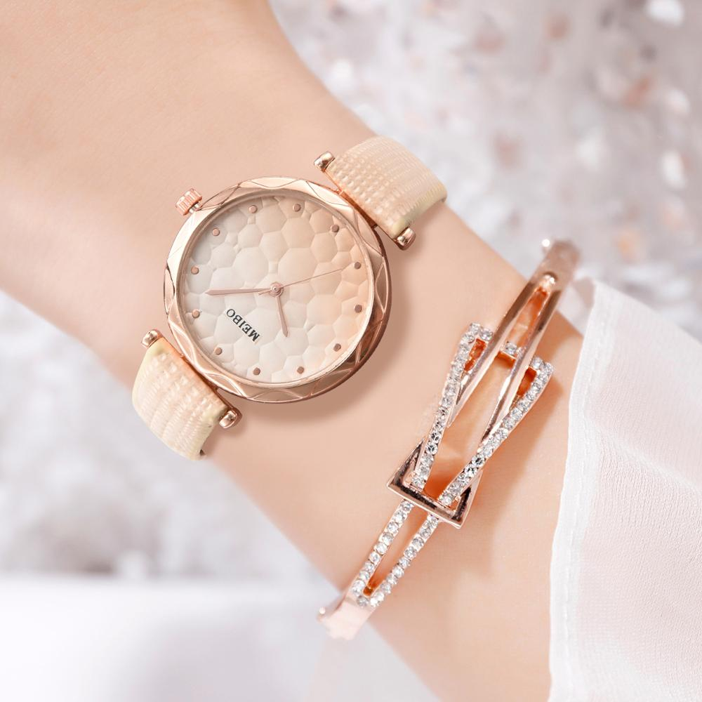 Fashion Women Watch Luxury Brand Casual Simple Quartz Clock For Women Leather Strap Wrist Watches Reloj Mujer Drop Shipping