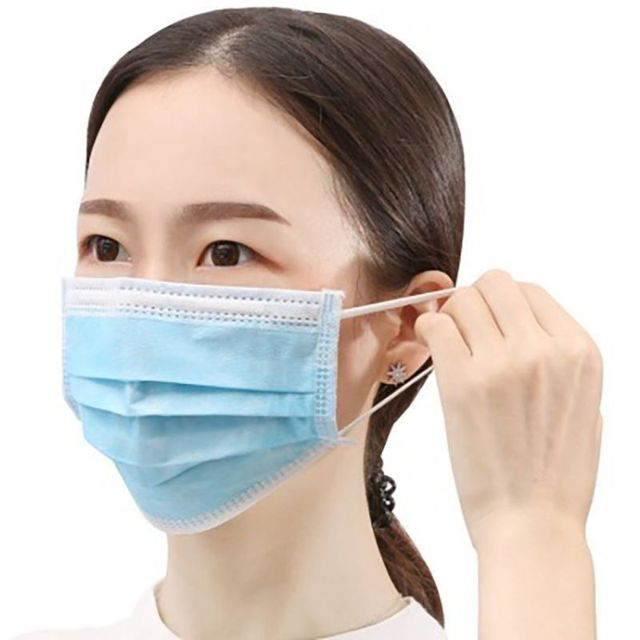 20/40/60pcs 3-layer Anti-fog Masks Disposable Dust Masks Anti-flu Formaldehyde Protective Masks Thickened  Masks Non-woven c 1