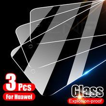 3 pçs cobertura completa de vidro temperado para huawei p30 p40 p20 lite pro p smart 2019 protetor de tela para huawei companheiro 20 30 10 lite vidro