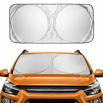Car Windscreen Sunshade Cover Car Windshield Snow Ice Dust Sun Shade Waterproof Protector Cover Automobile Universal Cover
