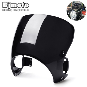 BJMOTO Motorcycle Windscreen For Kawasaki Z900RS 2018-2020 Windshield Wind Screen Shield with Mounting Holder Bracket black motorcycle motorbike windshield double bubble windscreen wind deflectors air flow for honda cbr1000rr cbr 1000rr 2004 2007