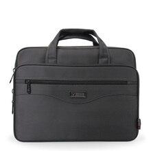 حقيبة أعمال حقيبة لابتوب أكسفورد القماش مقاوم للماء حقائب الرجال حقائب عادية رجل حقائب كتف السفر للرجال