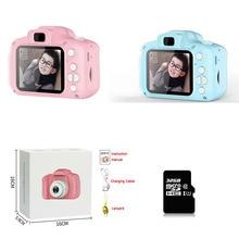 2 дюйма мини цифровой Камера игрушка Перезаряжаемые Камера фотографирования вне помещения, игрушки для детей, подарки