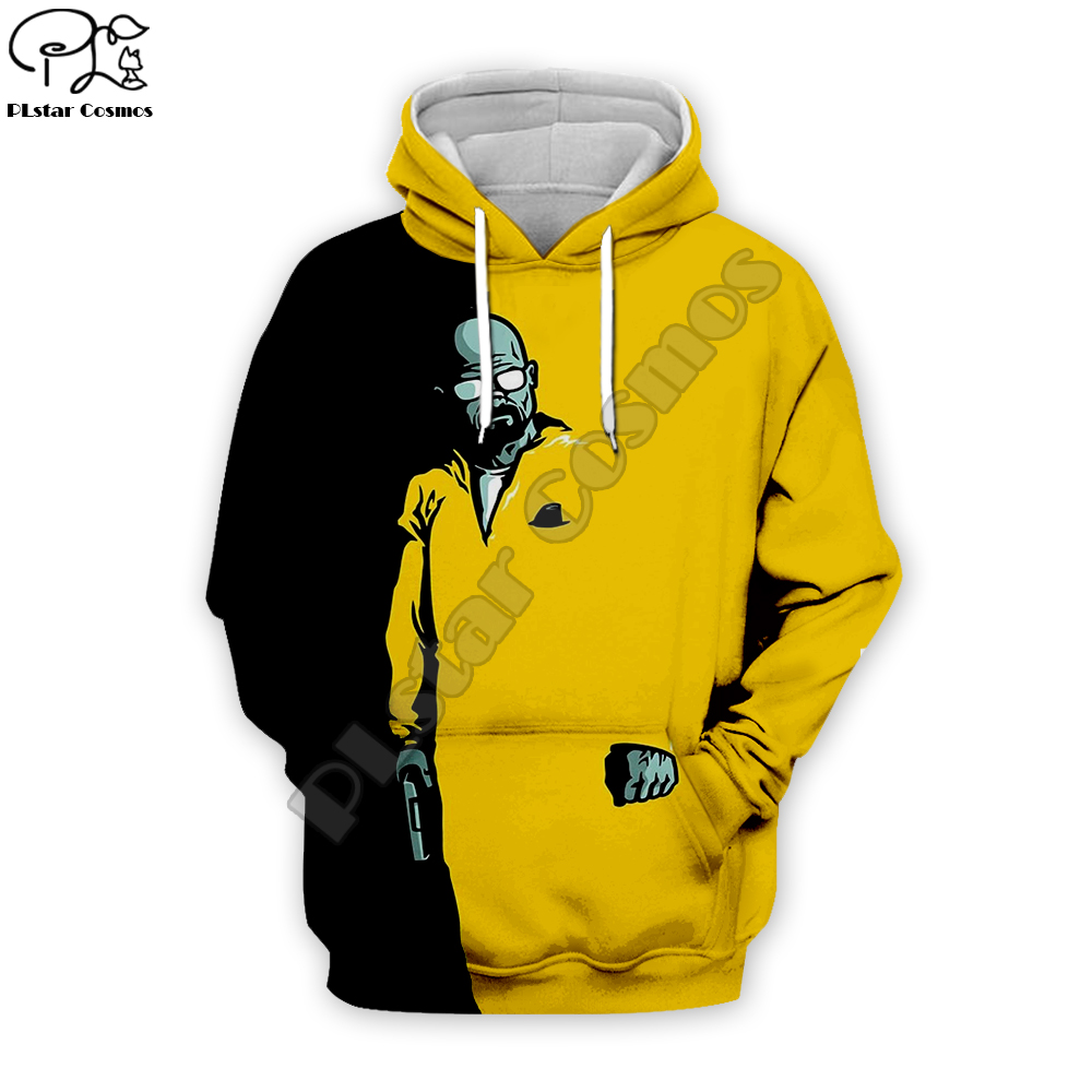 New Men Women El Camino Breaking Bad Movie 3d Hoodie Fashion Harajuku Pullover Sweatshirt Zipper Jacket Long Sleeve Top Coat 015
