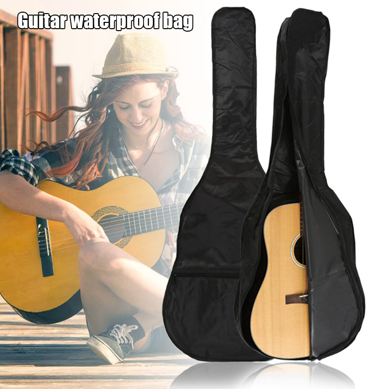 Acoustic-Guitar-Bag Backpack Classical Waterproof Single-Layer Oxford-Cloth Universal title=