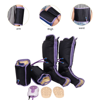 Leg Wraps Foot Ankles Calf Therapy Relieve fatigue at home relax device Electric Circulation Air Compression Leg Massager