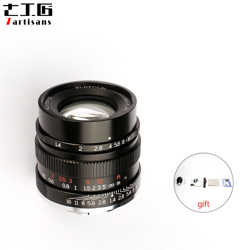 Únicas para Sony Len a Todas as Séries Artesãos Quadro Completo E-monte Câmeras a7 A7ii A7r A7rii A7m3 A7rm3 7 35mm F1.4