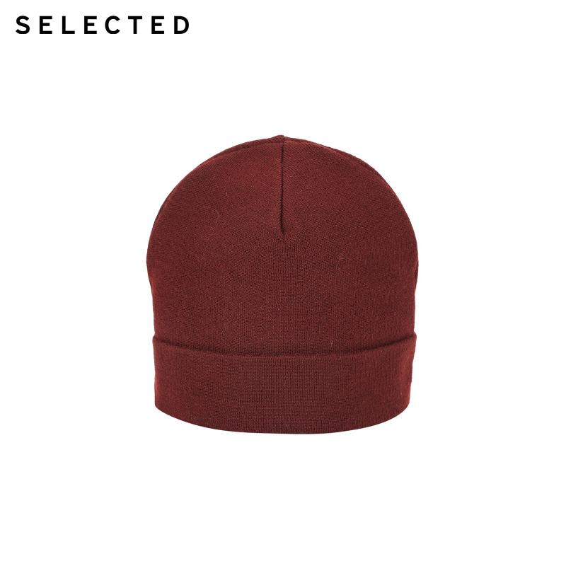 SELECTED Woolen Knitted Hat  | 41846F501