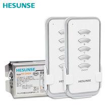 HS-QA024 2n1 4 canais sem fio interruptor de controle remoto 2 controles remotos e 1 receptor