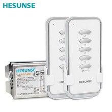 HS QA024 2N1 4 Canali Interruttore di Telecomando Senza Fili 2 Telecomandi E 1 Ricevitore