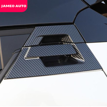 Jameo Auto Moulding Accessories for Toyota C HR CHR 2016 2020 Chrome Rear Door Handle Catch Trim Cover Side Handles Bowl Covers