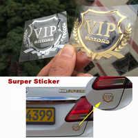 Super VIP MOTOREN logo metall nickel auto aufkleber aufkleber Reflektierende emblem Tür Fenster Körper Auto Decor DIY Auto styling super aufkleber