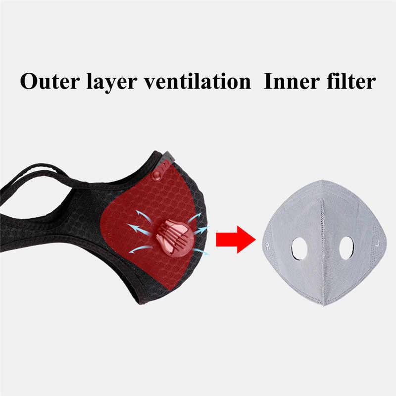 1 Pc Fietsen Gezichtsmaskers Stofdicht Anti-Vervuiling Mesh Mond Maskers Mountain Fiets Sport Road Maskers Gezicht cover