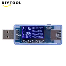 цена на USB Tester Battery Tester Voltage Current Detector Mobile Power Voltage Current Meter USB Charger Doctor