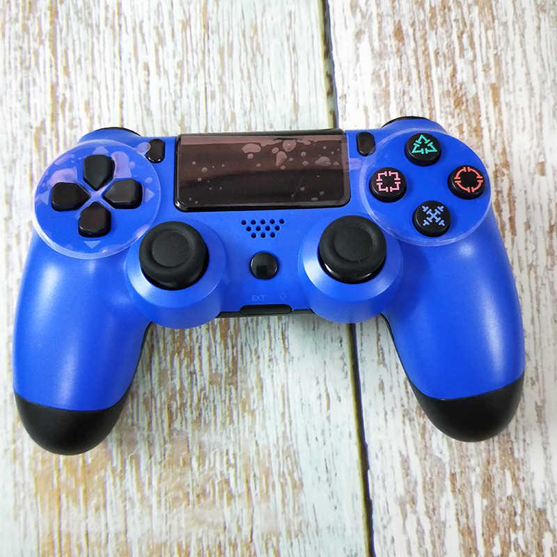 Bluetooth Nirkabel Joystick untuk PS4 Controller untuk PlayStation 4 Konsol untuk DualShock 4 Gamepad untuk PS3 Konsol Game PC