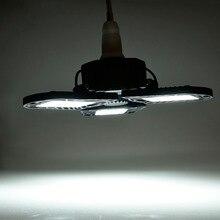 Супер яркий E26/E27 60 Вт UFO светодиодный светильник для гаража с высоким заливом CA 85-265 в водонепроницаемый IP65 промышленное освещение 8000 лм для складов