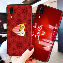 Yinuoda Phone Case For FC Sevilla Black Soft TPU For Sevilla Huawei DIY Picture Cover Mate 10 Pro P20 Pro P8 P9 Honor 9 Lite P30(China)