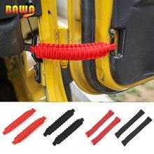 Bawa limite de carro corda porta ajustável proteção restrição corda cinta acessórios para jeep wrangler cj yj tj jk jku 1997-2017