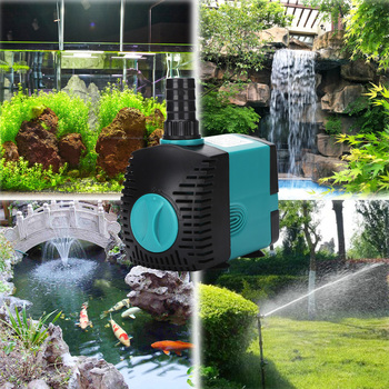 Ultra-Quiet Submersible Water Fountain Pump - Perfect For Outdoor/Indoor Ponds 3