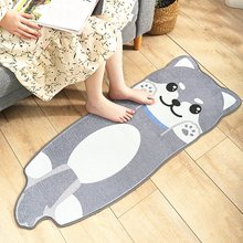 Soft Cozy Thick Black Yellow Cats Area Rugs Children Kid Room Floor Rug Carpets Non-slip Machine Washable Durable