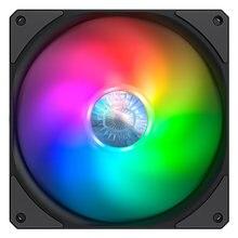 Refroidisseur maître faux-flow 140 ARGB 140mm coque d'ordinateur ventilateur de refroidissement 5V adressable RGB refroidisseur de processeur remplacer ventilateur PWM silencieux