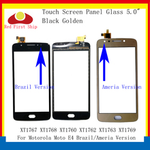 цена на 10Pcs/lot Touch Screen For Motorola Moto E4 XT1767 XT1768 XT1760 XT1762 XT1763 Touch Panel Digitizer Sensor Front LCD Glass Lens