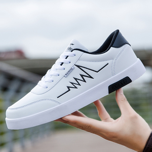 Image 1 - Haute qualité marque hommes chaussures décontractées offre spéciale printemps automne chaussures décontractées hommes respirant mode rouge noir chaussures hommes décontractées blanc