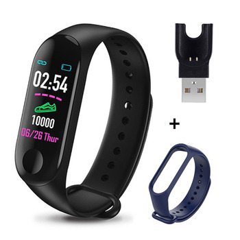 M3 Plus Smart Bracelet Heart Rate Blood Pressure Health Waterproof Smart Watch M3 Pro Bluetooth Watch Wristband Fitness Tracker 11