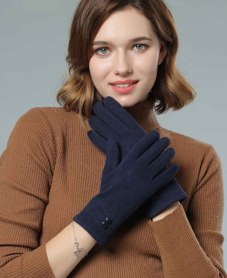 SPARSIL Windproof and Warm Touch Screen Gloves Made of Velvet Suitable for Any Touch Screen Device 11