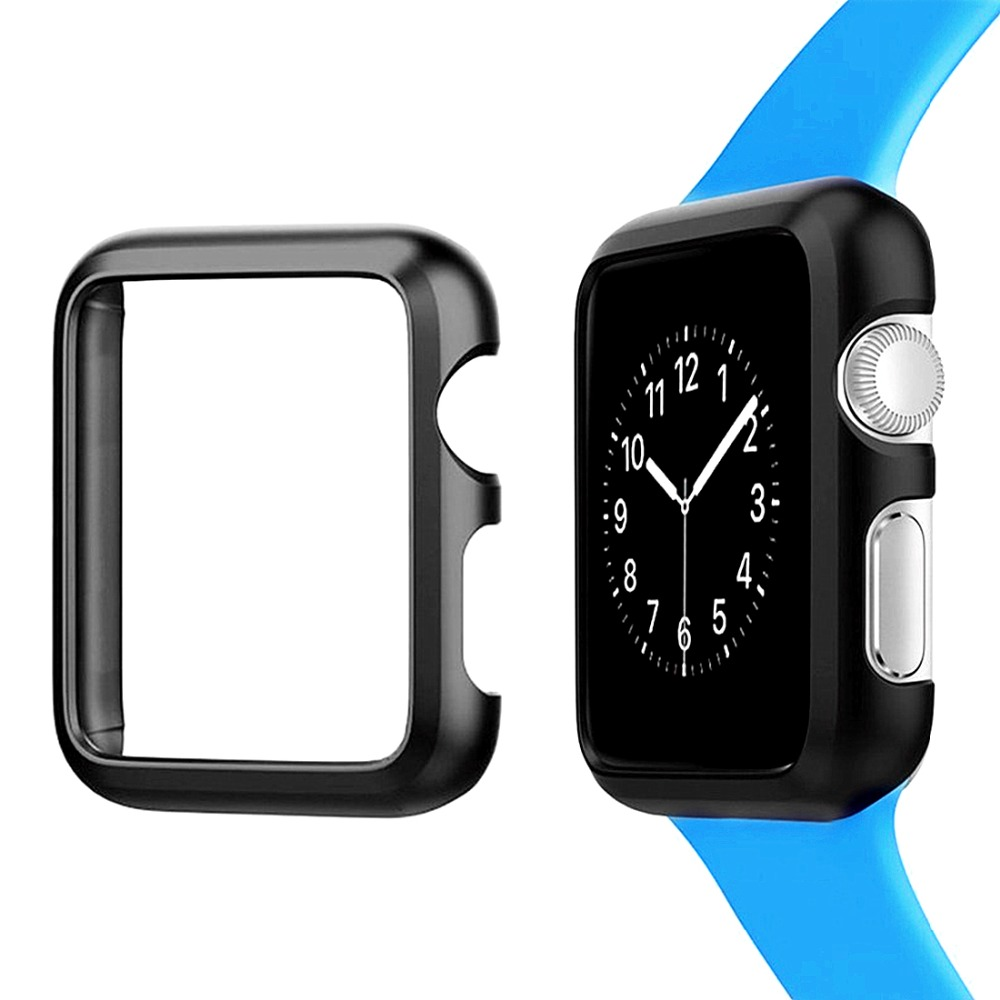 Cover for Apple watch Case 42mm 38mm Apple watch 4 5 case 44mm 40 mm iWatch series 3 2 1 Aluminum Protective Bumper Accessories image
