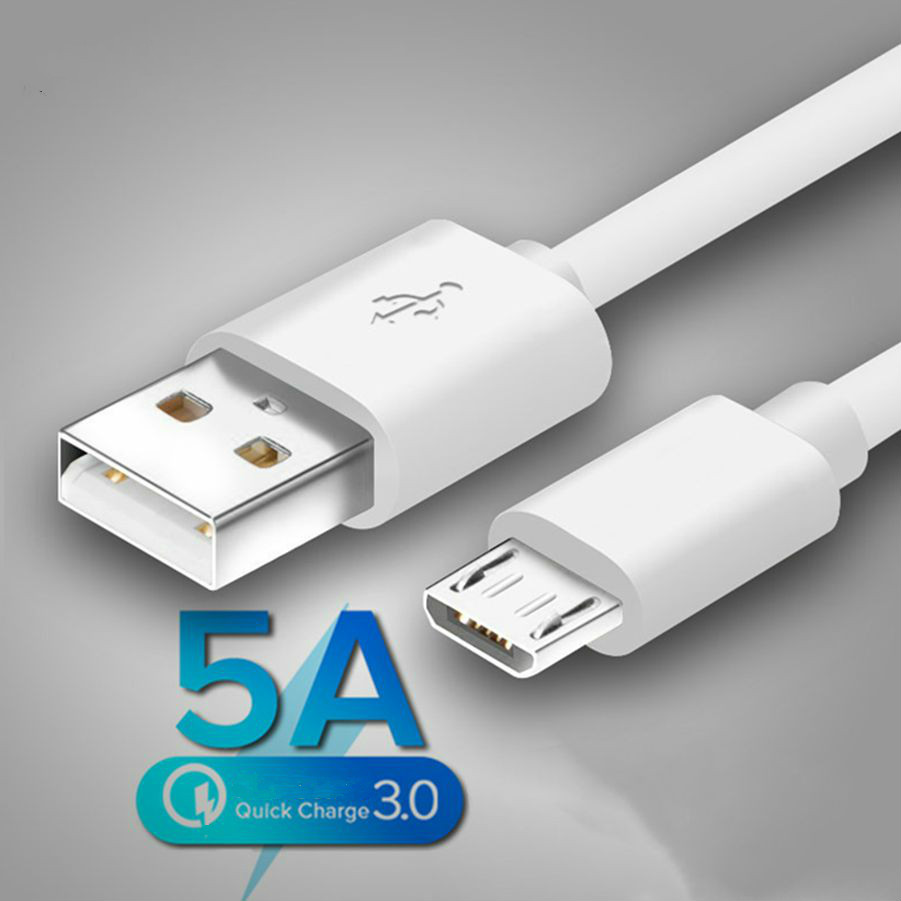 Original Micro USB Cable Fast Charging For Redmi 7 7A Note 5  Mobile Phone Microusb USB Cable For Samsung S6 S7 Charger Cable