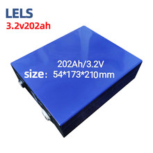 LELS Lithium iron phosphate 3.2V202Ah large monomer electric vehicle lithium battery cell