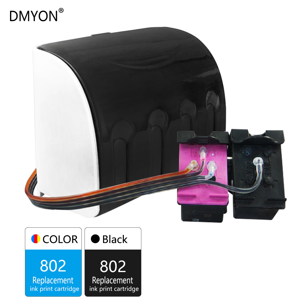 1000 1010 dmyon 802 ciss bulk ink compatible for hp 802 xl for 1510