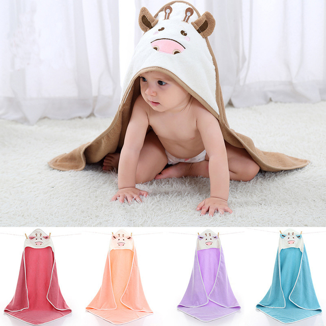 Animal Hooded Towel - 100% Cotton