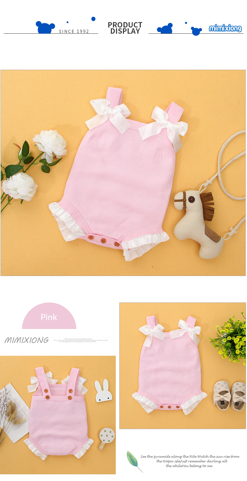 Baby Girls Sleeveless Bodysuits 10