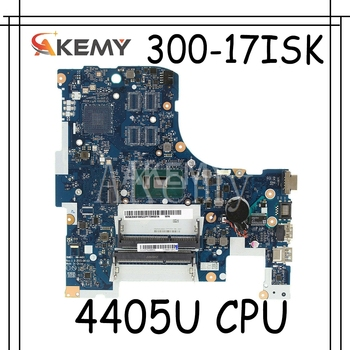 Akemy Free Shipping For Lenovo ideapad 300-17ISK BMWD1 NM-A491 Laptop motherboard SR2EX 4405U CPU image