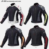 NEW FOR KOMINE JK 069 Motorcycle jacket mesh breathable racing anti drop jacket men's riding jackets