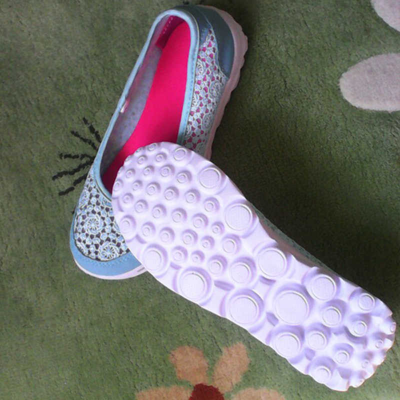 VTOTA 女性フラットシューズ 2017 快適なフラットエアメッシュ春夏用の靴女性 Zapatos デ mujer スリップ女性 F75