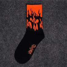 1 pair Men's and women's socks autumn Breathable ins Korean middle tube tide net red street long socks