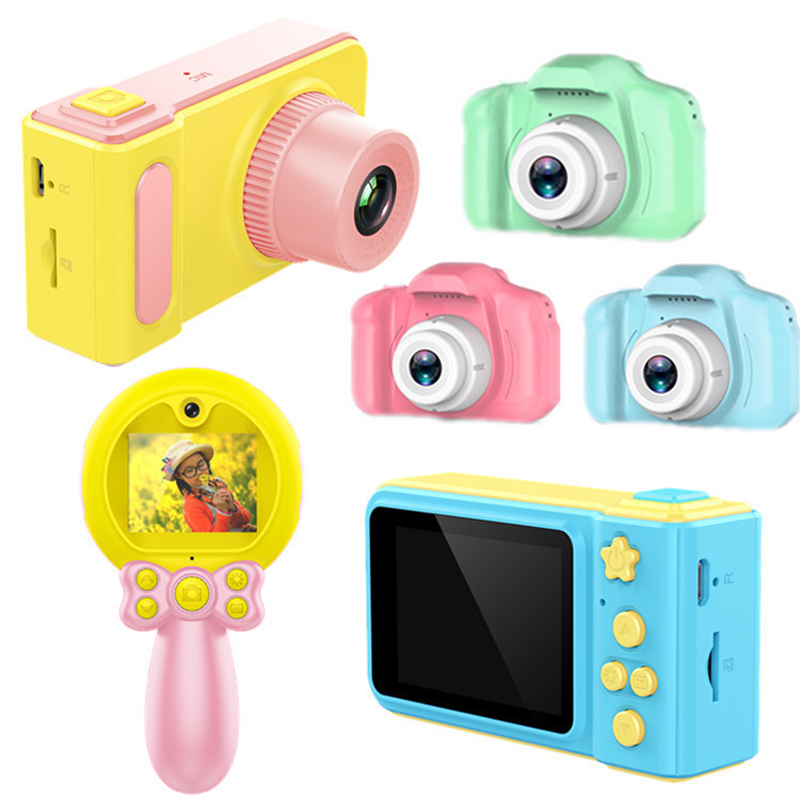 Children's Digital Camera Toys For Kids Birthday Gifts Mini 1080P Projection Video Cameras Baby Girls Boys Educational Toys
