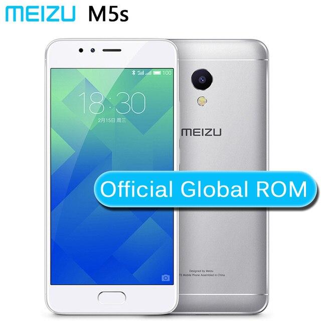 """Original Meizu M5S 4G LTE 32GB ROM Octa Core 5.2""""HD 1280x720 13.0MP Quick Charge bluetooth 3000mAh metal body"""