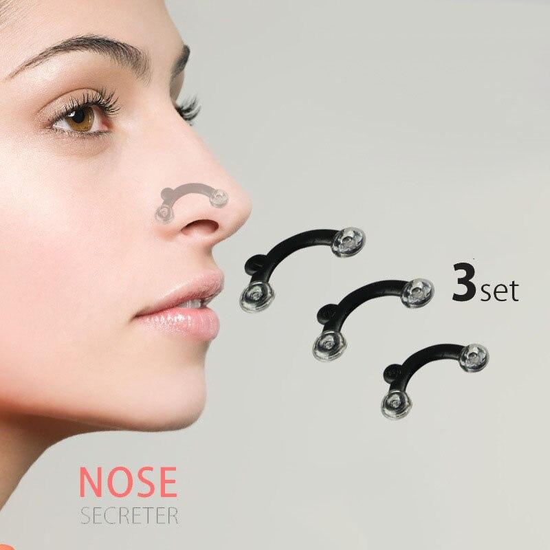 6 шт./компл. 3 размера красота поднятие носа мостик формирователь массажный инструмент без боли формирование носа клипса клиппер женский Дев...