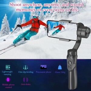 Image 2 - Orsda מייצב Gimbal Smartphone מצלמה 3 ציר PTZ כף יד עבור טלפון IPhone11XS XR X 8 בתוספת W/פוקוס למשוך & זום Estabilizador
