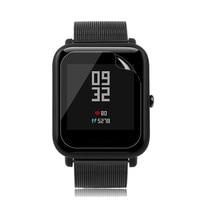 1/2/5pc Smart Reloj hombres claro protector de pantalla impermeable Frostedfilm para Huami Amazfit Bip jóvenes Reloj Montre Connectée
